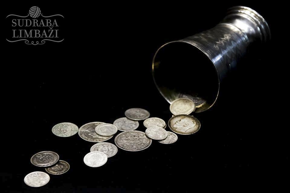 sudraba nauda Limbažos